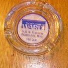 Vintage Montgomery Wards Advertising Ashtray