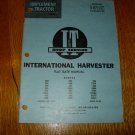 I & T Shop Service International Harvester Flat Rate Manual IH-27