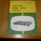 John Deere 1260 & 1280 Planter Owners Manual