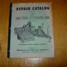 Minneapolis Moline Bale-O Matic Repair Catalog