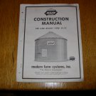 Modern Farm System Grain Storage Bin Construction Manual