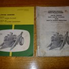 John Deere 227 and 227S Corn Picker Operators and Predelivery Manuals