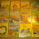Set of 12 Vintage Little Golden Books: Cats Flying Scuffy ABC Animal Quiz Book