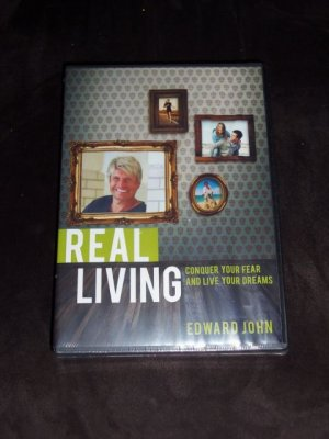 REAL LIVING by Edward John, Conquer Your Fear & Live Your Dreams (4 DVD Set) NEW