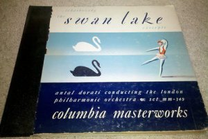 Antal Dorati Swan Lake Excerpts 4 Vinyl LPs Box Set Tchaikovsky MM-349 Classical