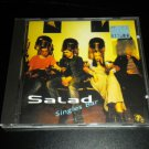 SALAD - Singles Bar (The First Three Singles) Audio CD, 1994 Island Red Label