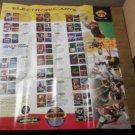 Vintage SEGA Genesis / Electronic Arts Old School Video Game Retro Poster NICE