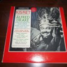 KISMET Alfred Drake, Original Broadway Cast Recording Vinyl LP Columbia OL 4850