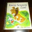 A Little Golden Book: Tawny Scrawny Lion #138 RARE Vintage 1974 4th Printing LGB