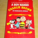 A Boy Named Charlie Brown Full Color Peanuts Special Vintage 1971 Paperback Book
