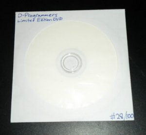 D-PROGRAMMERS Intense Rave VJ Visuals DVD (Signed and Direct from the artist!)