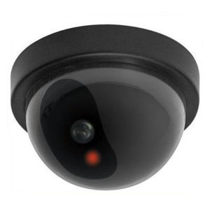 SECO LARM VD-20NN Fake Dummy Dome CCTV Faux Video Security Camera Flashing Light