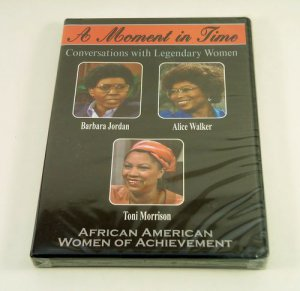 A Moment in Time: Conversations with Legendary Women, African American (DVD) NEW