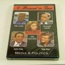 A Moment in Time: Media & Politics (Documentary DVD) Hugh Hefner, Interviews NEW