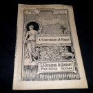 A Convention of Papas Antique 1897 play script book from T.S. Denison Publishers