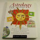 Astrology for Living by Sasha Fenton (1999, Hardcover Book) New Age Spirituality