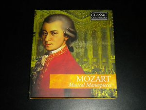Mozart: Musical Masterpieces (Book & CD, Classic Composers) Classical Music