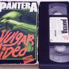 Pantera: Vulgar Video (VHS, 1993) Heavy Metal Music Videos Dimebag Darrell
