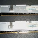 Mushkin 1GB RAM Memory Chip PC2700 DDR-333 Mhz 184-pin DIMM 512MB x2 Heatsink