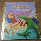 Little Golden Book: Disney's Hercules Race to the Rescue by Barbara Bazaldua