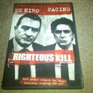 Righteous Kill Starring Robert De Niro, Al Pacino, 50 Cent (DVD, 2009) Thriller