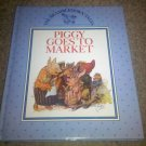 The Brambledown Tales: Piggy Goes to Market by Ernest Aris (1990, Hardcover)