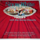 "Walt Disney's SNOW WHITE, Vintage 1962 Disneyland Records 12"" Vinyl LP ST-3906"