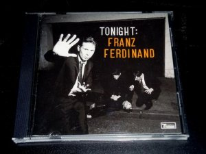 Tonight by Franz Ferdinand (CD, Jan-2008, Epic USA) Scottish Alternative Rock VG