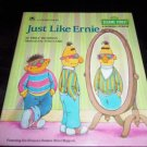 Just Like Ernie by Emily Thompson (1988, Hardcover) Sesame Street Golden Book