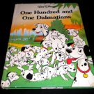 Walt Disney's One Hundred One Dalmatians (1991, Hardcover Children's Book)