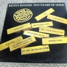 "Kenny Rogers - Ten Years of Gold 1977 Vintage 12"" Vinyl LP UA-LA835-H Near Mint"