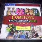 Broderbund Compton's Encyclopedia 2000 Deluxe (2 CD-ROM) Reference Software Disc