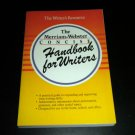 The Merriam-Webster Concise Handbook for Writers by Merriam-Webster, 1st Edition