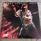 "Kenny Loggins - Alive 1980 Double LP 12"" Vinyl Record (Columbia C2X 36738) VG+"