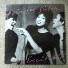 Pointer Sisters - So Excited! 1982 12&quot; LP BXL1-4355 PLANET VG+ 80&#39;s Vocal Pop