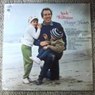 "Andy Williams - Happy Heart 1969 Vintage 12"" Vinyl LP Record Columbia CS9844 VG+"