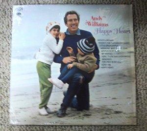 "Andy Williams - Happy Heart 1969 Vintage 12"" Vinyl LP Record Columbia CS9844 VG+"