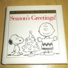 Festive Peanuts: Season's Greetings! Charlie Brown Christmas Holiday Gift Book