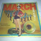 "The Continental Marching Band: March Favorites C4041 12"" Vinyl LP Near Mint"