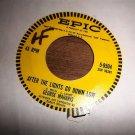 """GEORGE MAHARIS Teach Me Tonight Vintage 7"""" Vinyl Single 45 RPM VG"""