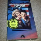 Top Gun (VHS, 1996) Tom Cruise and Tony Scott Paramount Air Force Pilot Movie