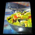 Cook's Library Quick & Easy Meals Cookbook, Paragon Publishing (Hardcover)