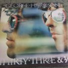 "George Harrison - Thirty Three & 1/3 (1976) 12"" LP VG+ 70's Classic Rock Beatles"
