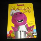 Barney's Alphabet Soup by Mary Ann Dudko (1997, Hardcover) Children's Board Book