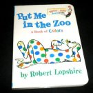 Put Me in the Zoo by Robert Lopshire (1973, Hardcover) Learning to Read Children