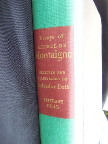 essays on michel demontaigne illustrated by salvador dali 1947 Salvador dalí illustrates montaigne: sublime surrealism from a rare the essays of michel de montaigne illustrated by salvador dali 1947 by salvador dali.