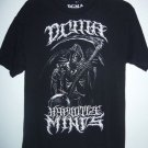 "DCMA Collective ""Hypnotise Minds"" Grim Reaper Black T-Shirt, Men's Size Large L"