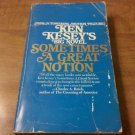Sometimes a Great Notion Ken Kesey (1988 Paperback) Psychedelic Merry Pranksters