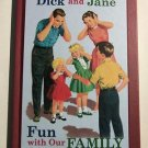 Dick and Jane: Fun With Our Family (2004, Hardcover) Grosset & Dunlap Retro Book