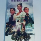 War and Peace (VHS, 1991, 2-Tape Set) Audrey Hepburn, Henry Fonda, New & Sealed